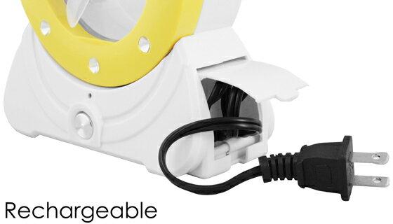 Multi-Functional 22 LED Desk Lamp, Flashlight and Mini Fan 2