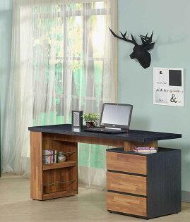 【尚品家具】JF-362-1約翰5尺鐵刀柚木電腦桌