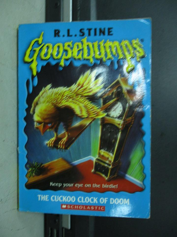 【書寶二手書T4/原文小說_KDJ】The cuckoo clock of doom_R.L.STINE