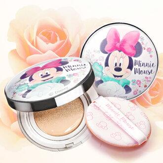 韓國 ATEX x Disney 米妮甜蜜初戀氣墊粉餅 15g 迪士尼【N202152】