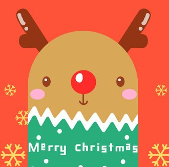 ~體驗特惠中~紅鼻小鹿 I love Painting  親子紓壓數字油畫 聖誕節系列 韓國原裝進口