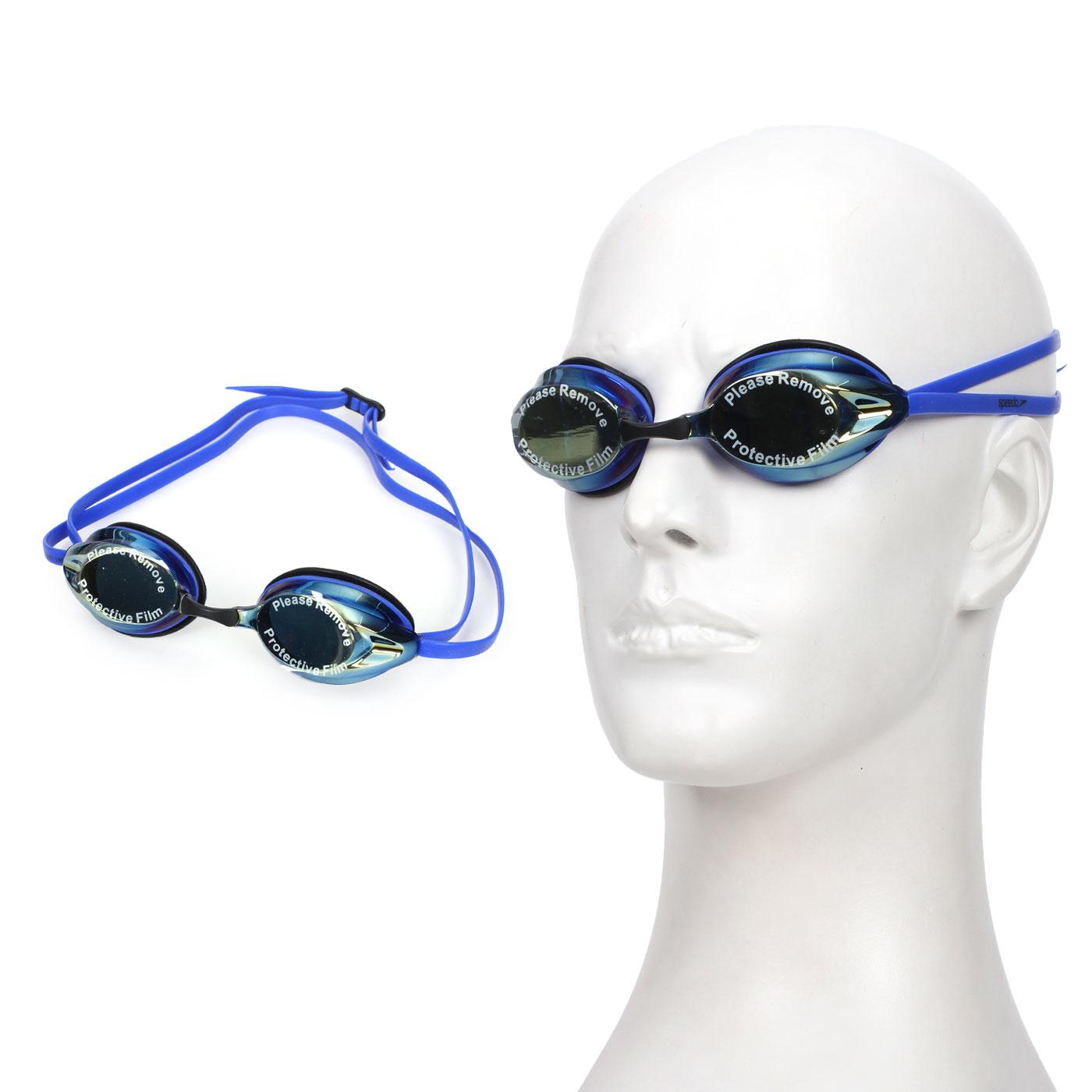 SPEEDO 成人競技偏光泳鏡 Aquapulse Max 2 反光鏡面 (游泳【99301290】≡排汗專家≡