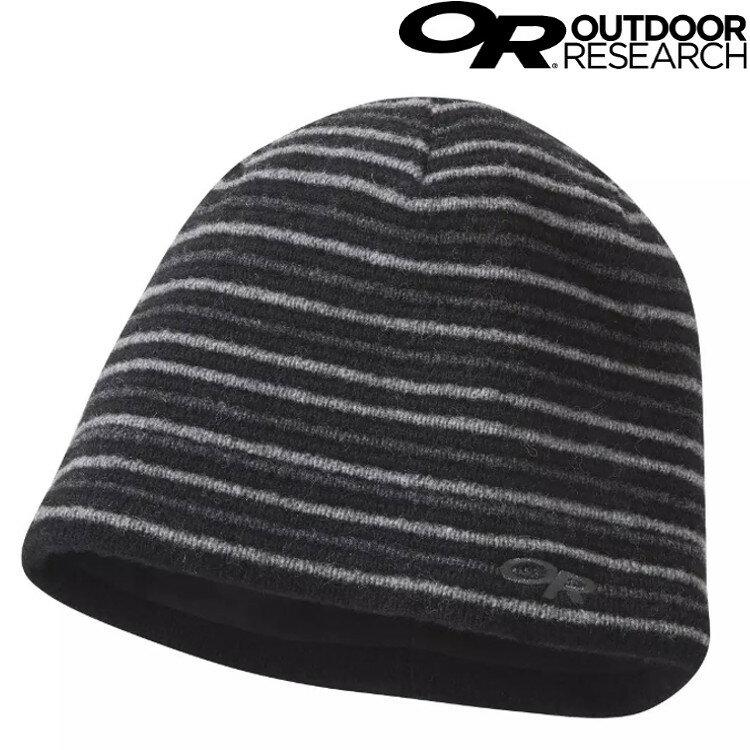 Outdoor Research Spitsbergen Hat 條紋保暖帽/登山毛帽 OR271517 1344 黑灰/條紋