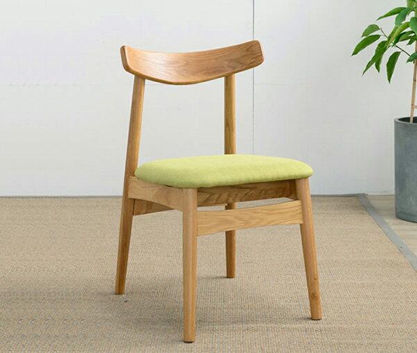 [迪瓦諾]小牛角椅北美橡木餐桌椅