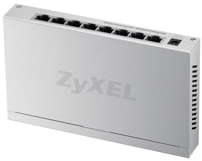 [NOVA成功3C]ZyXEL合勤 GS-108B v2 8埠無網管型交換器