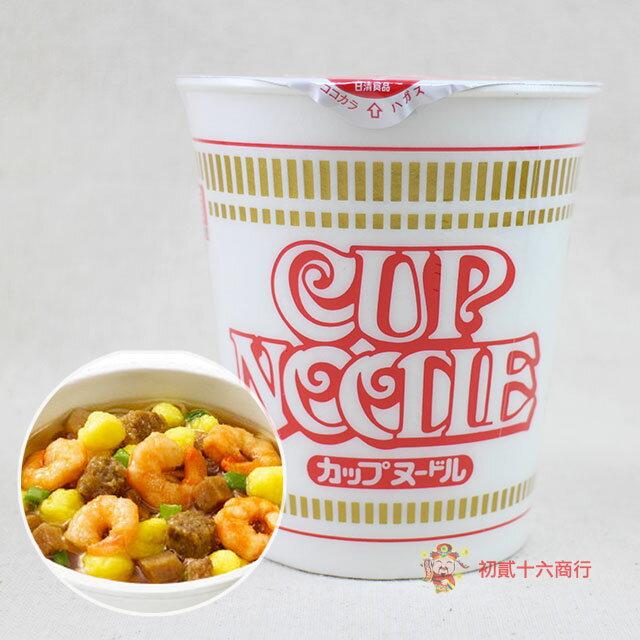 【0216零食會社】日本-日清杯麵(醬油風味)77g