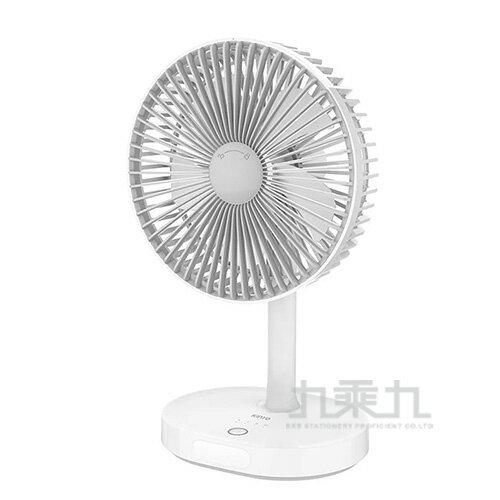 KINYO USB靜音桌立風扇UF-8705