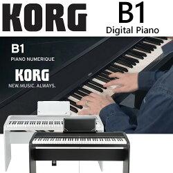【非凡樂器】KORG B1ST Digital Piano 電鋼琴 黑色 (含琴架) 贈送實用好禮 !