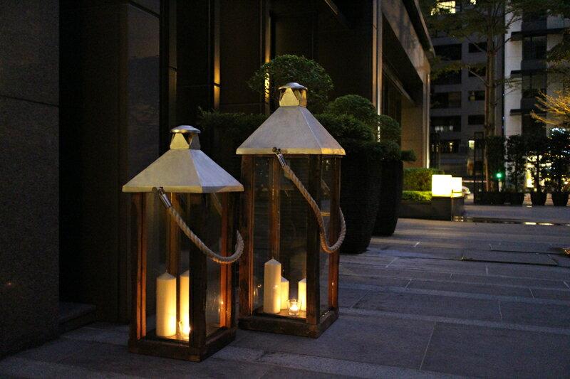 Upptäck Deco 騎士團提燈 - 全兩個尺寸【7OCEANS七海休閒傢俱】 0