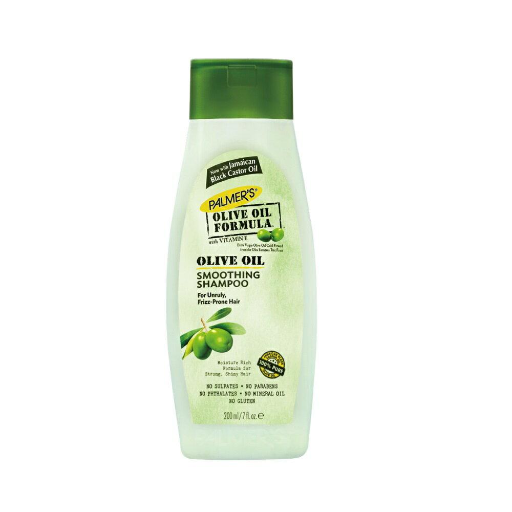 【PALMERS 帕瑪氏】天然橄欖脂菁華髮根強健洗髮乳 200ml (限量瓶)