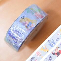 PGS7 日本迪士尼系列商品 - 日貨 北歐 畫風 愛麗絲 Alice 紙膠帶【SHD71391】