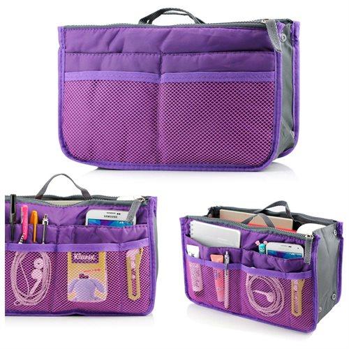Women Travel Insert Handbag Organizer Purse Large liner Organizer Tidy Bag 33