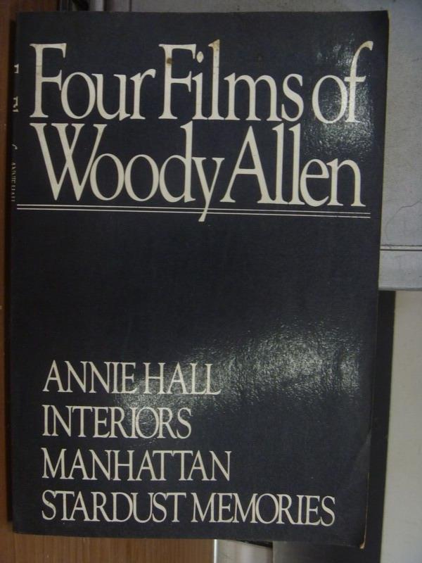 ~書寶 書T4/影視_PDR~Four Films of Woody Allen