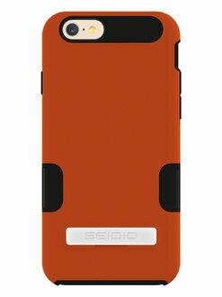 SEIDIO DILEX™ PRO 專業級雙層保護殼 for Apple iPhone 6 4.7- 活力橘