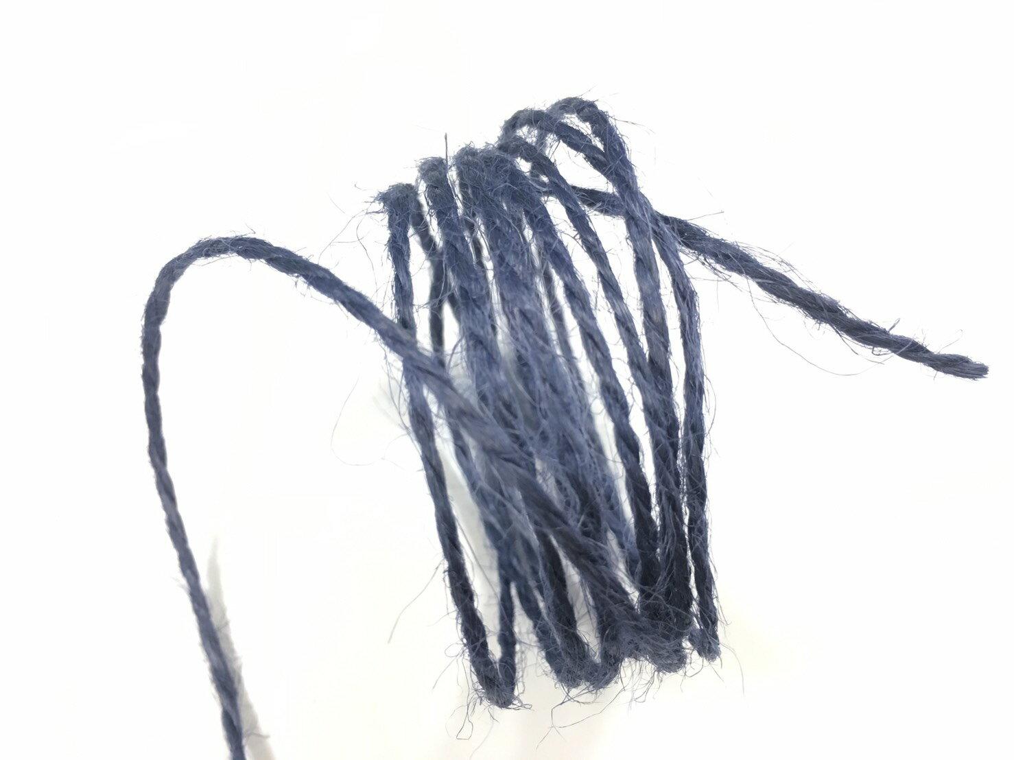 【Crystal Rose緞帶專賣店】單色素麻繩 2mm 5碼裝 (15色) 9