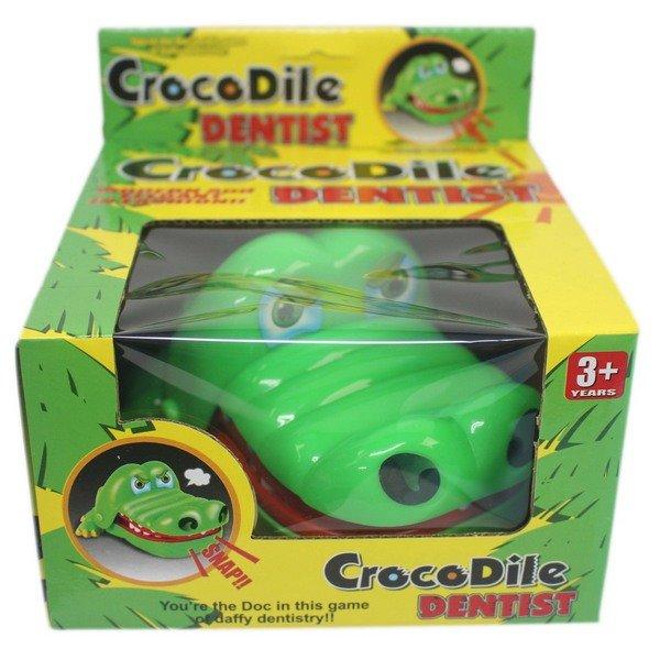 鱷魚拔牙齒 828 瘋狂鱷魚咬咬樂(大) / 一個入(促90) 咬人鱷魚 整人玩具 桌遊-創F-T828 3