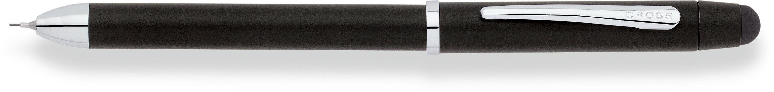 【文具通】CROSS Tech3 + Satin Black Multi-Function Pen 高仕 多功能三用筆 黑桿AT0090-3 A1200237