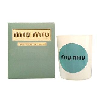 miu miu 義式香氛蠟燭容器(經典版) ☆真愛香水★