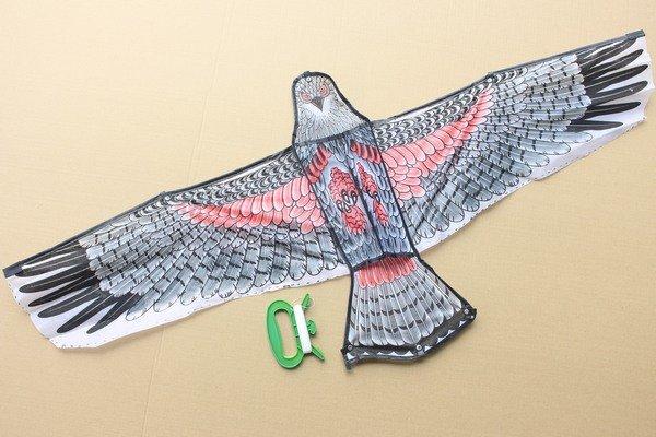 大老鷹風箏老鷹造型風箏立體老鷹風箏1.2米(大立體布面.碳纖維架120cmx54cm)一件500支入{定100}~204593
