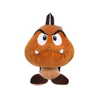Super Mario - Goomba Plush Backpack Kids Bag with Zipper Pouch