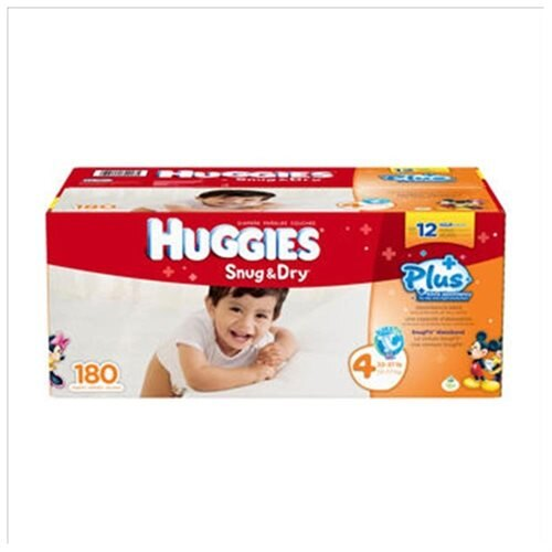 d34df220021c Tradecozone  Huggies Little Movers Plus Diapers Size  4  180 Ct ...