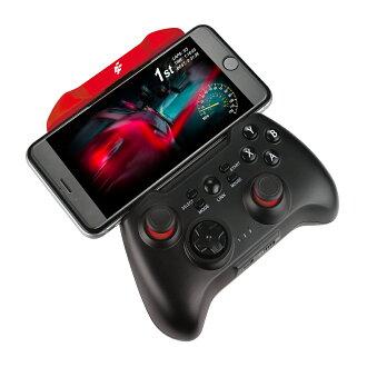 【最高現折$850】FlashFire HYPER PAD藍牙智慧遊戲手把 (BT-3000D) – 紅黑色