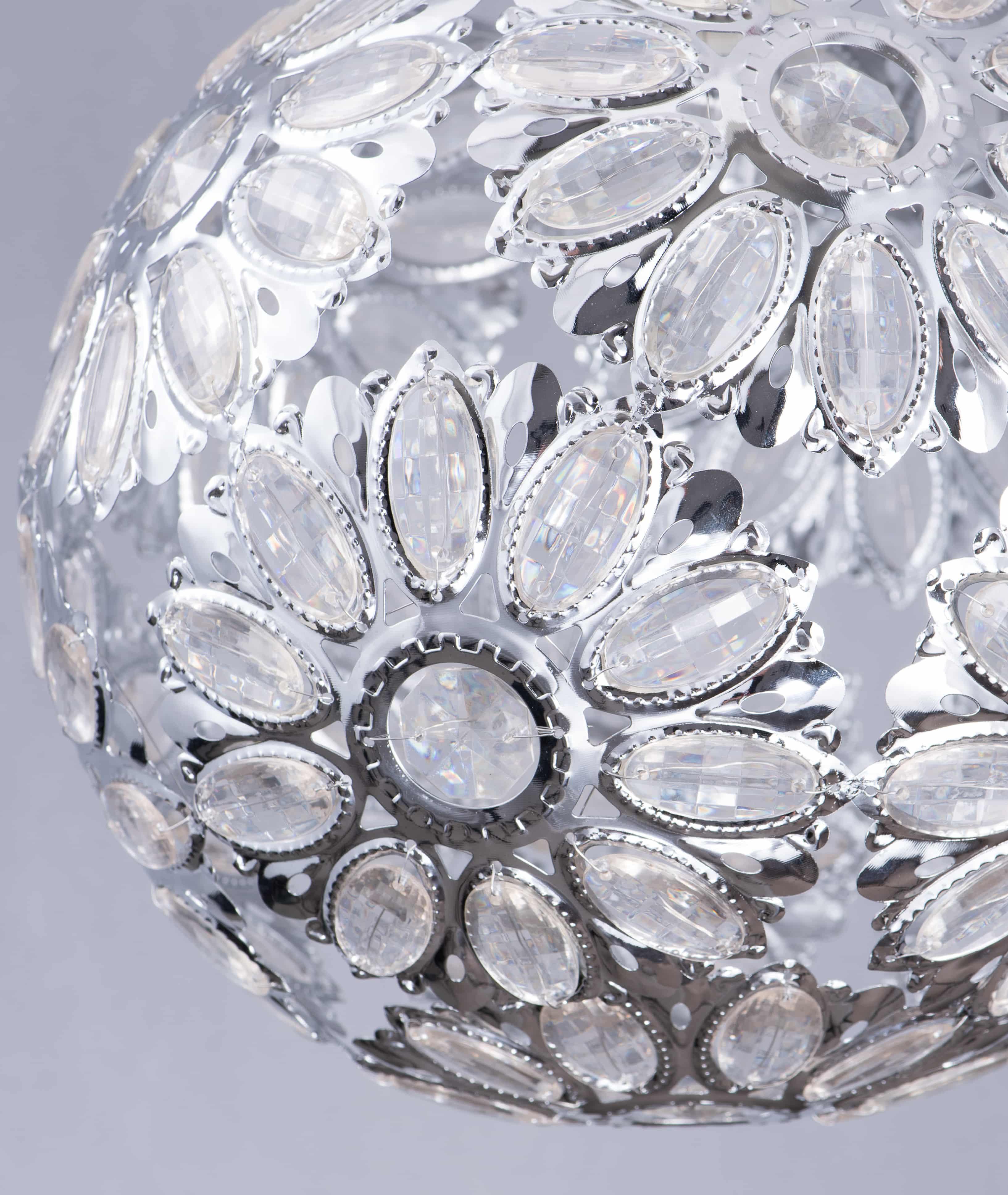 鍍鉻波斯蘭菊吊燈-BNL00086 3