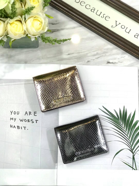 OUTLET美國代購 Michael Kors MK 小格紋兩折短夾 錢包 皮夾 鈔票夾 證件夾 #雙色可選