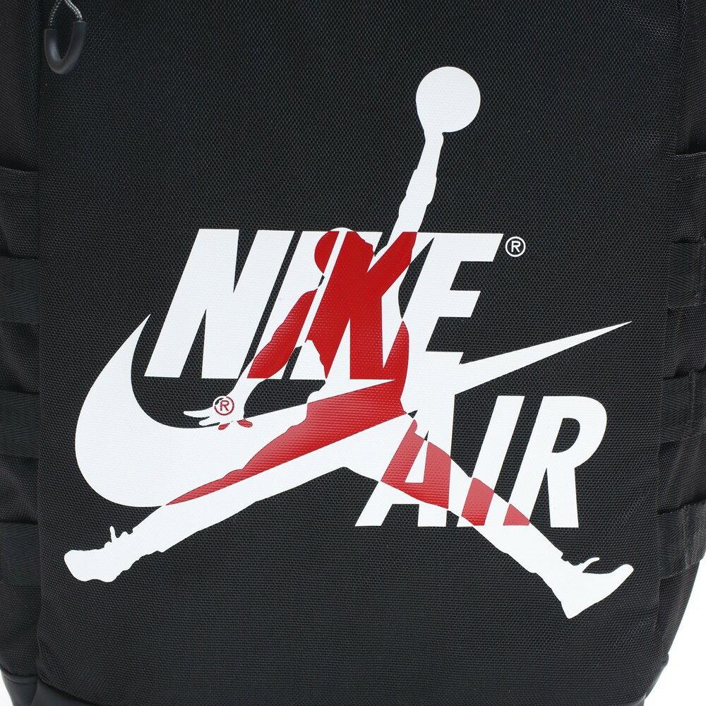 【領券滿$2000最高折$250】NIKE AIR JORDAN 黑白紅 飛人 運動 休閒 後背包 (布魯克林) 9A0257-023