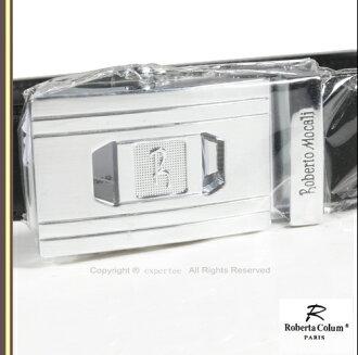 請先詢問庫存【騷包館】【Roberta Colum 】牛皮 銀牌尊爵自動皮帶 RM-7208