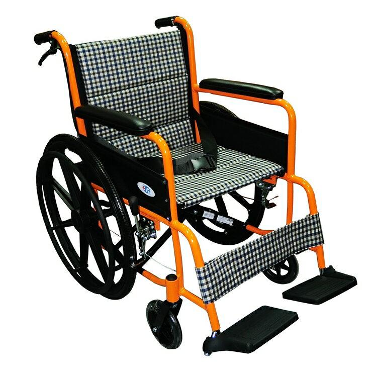 富士康機械式輪椅(未滅菌) ( FZK2B鋁製輪椅-雙層坐墊) 0