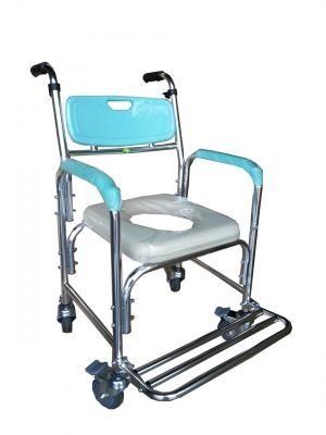 鋁合金便器椅(便盆椅)-附輪固定 FZK4301
