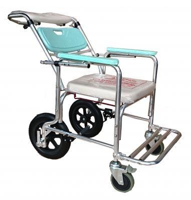 鋁製便器椅(便盆椅)-可調後背角度FZK4351