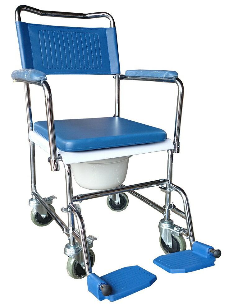 鐵製歐式便器椅(便盆椅)-硬墊FZK3701