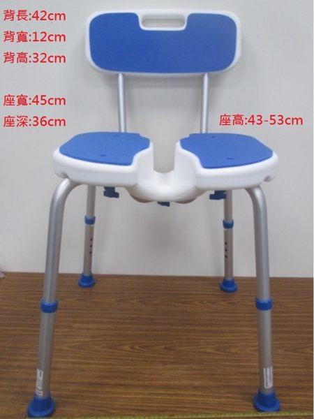 FZK DIY洗澡椅 洗臀椅有靠背