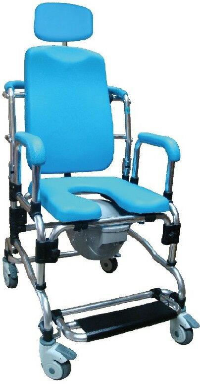 洗澡椅 便盆椅 便器椅旗艦型加頭靠SHU-818-3 0