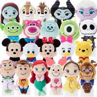 小熊維尼周邊商品推薦日本迪士尼 療癒Q版 毛絨玩偶 坐姿娃娃 擺飾 20款供選 ☆艾莉莎ELS☆