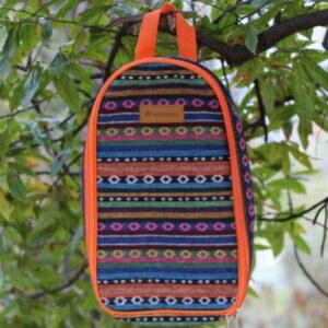 美麗大街~CF670~戶外野營廚具包野餐包燒烤工具包復古民族風便攜包旅行拎包收納包