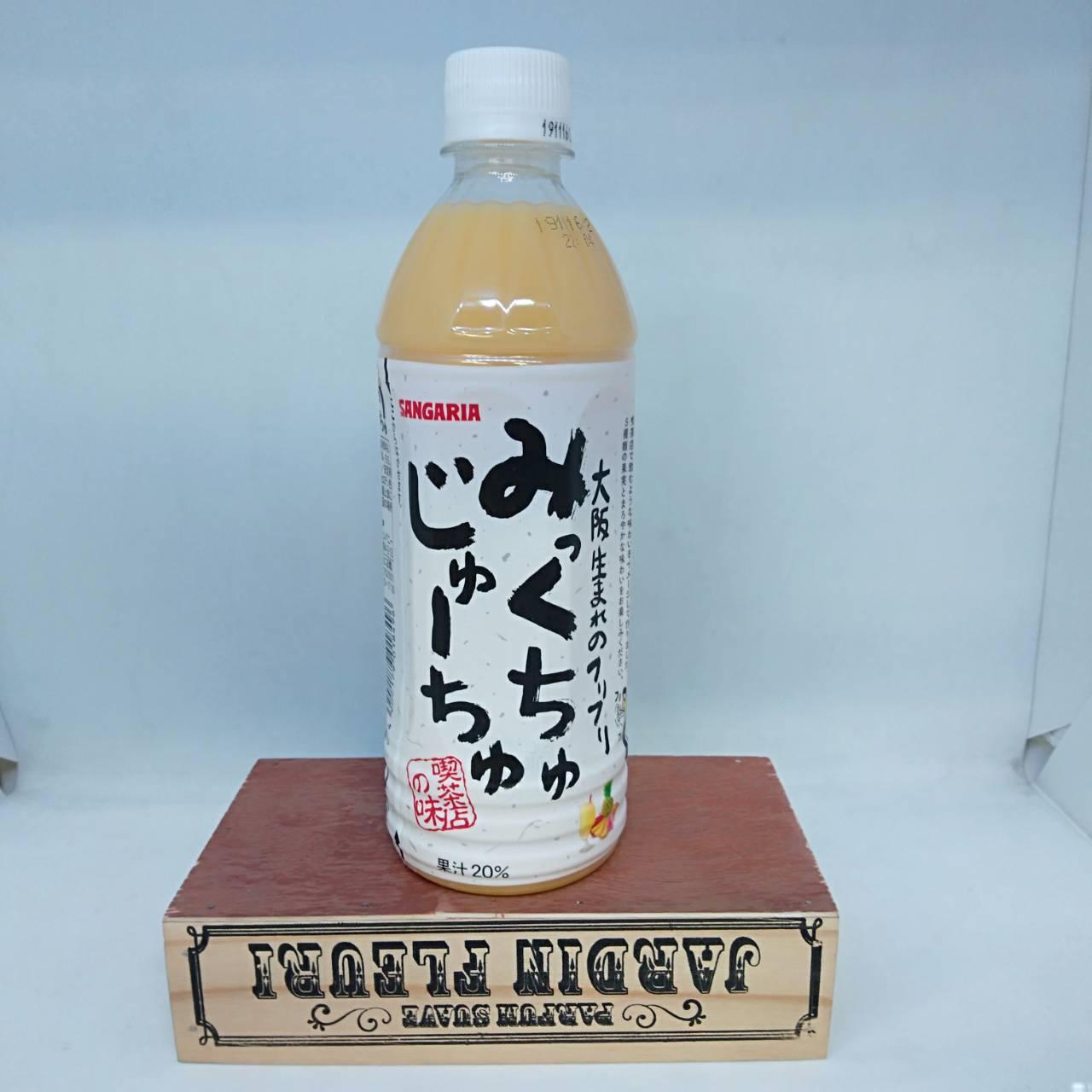Sangaria綜合水果優格飲料-500ml瓶