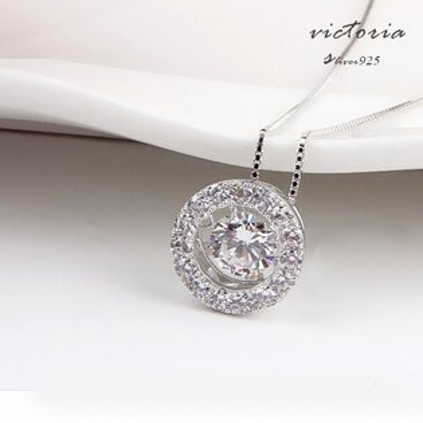 Victoria:S925銀幾何星型項鍊-維多利亞161224