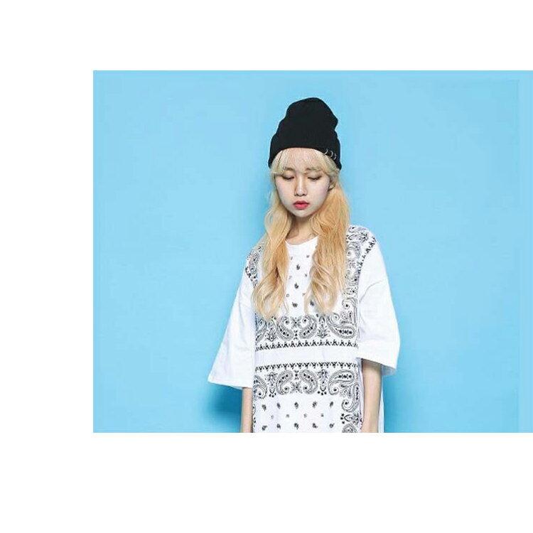 毛帽 針織帽 毛帽 三環釦 反褶毛帽【QI1002】 BOBI  09/01 2