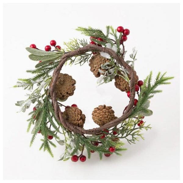 聖誕裝飾花圈 25cm RED RH02-17911 NITORI宜得利家居 6