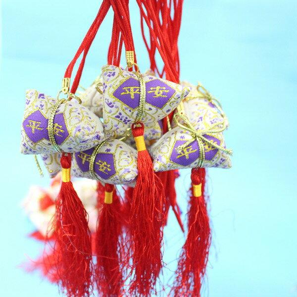 平安香包 粽子香包 項鍊式手工(成品) / 一包10個入 { 促80 }  端午節香包~4762 5