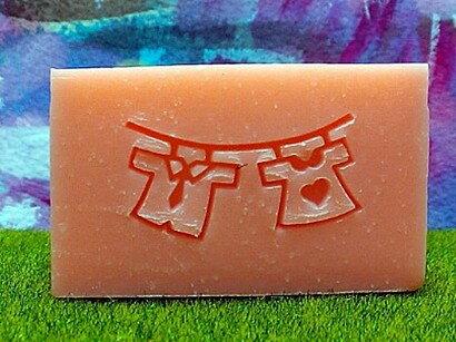 BE015可愛皂章(訂製 手工藝用品 皂用印章 手工皂訂購需一周時間)