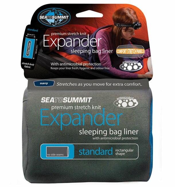【鄉野情戶外專業】Sea To Summit |澳洲| Expander 標準彈性睡袋內套 / 背包客睡袋內套 / 自助旅行內套-桃紅色 AEXPSTD