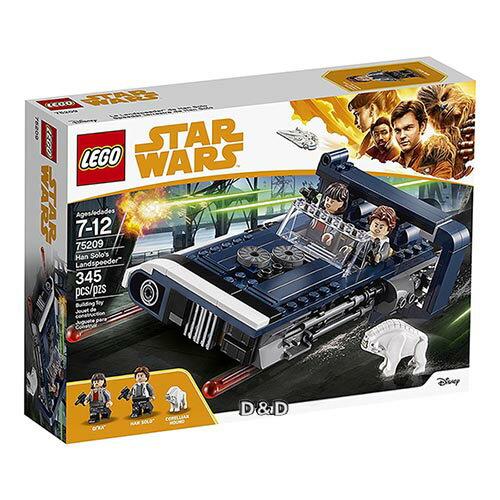 樂高積木LEGO《LT75209》2018年STARWARS星際大戰系列-HanSolosLandspeeder