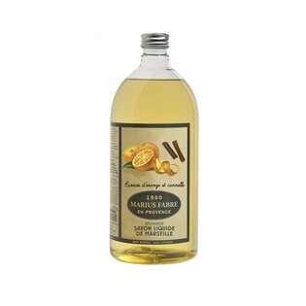 (任選3件享優惠折扣)MARIUSFABRE法鉑天然草本甜橙液體皂1L附壓頭