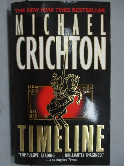 ~書寶 書T6/原文小說_IQT~TIMELINE_Michael Crichton