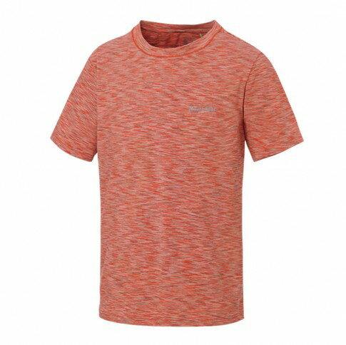 【【蘋果戶外】】山林31P25-49橘Mountneer男透氣抗UV圓領上衣吸濕排汗衣超彈性涼爽吸濕快乾透氣除臭