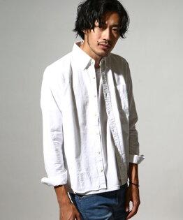 牛津襯衫日本製10WHITE
